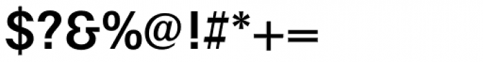 Maxima Medium Font OTHER CHARS