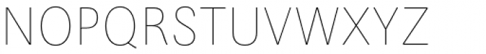 Maxima Now TB Pro Cond UltraLight Font UPPERCASE
