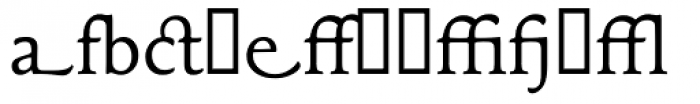 Maxime Alternate Font LOWERCASE