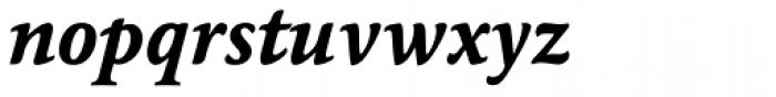 Maxime Pro Bold Italic Font LOWERCASE