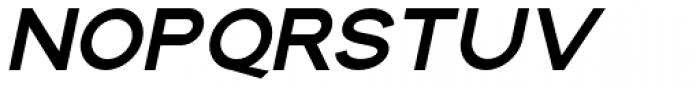 Maxine Sans Heavy Italic Font UPPERCASE