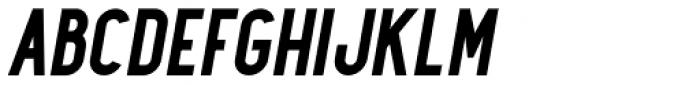 Maxwell Sans Bold Italic Font UPPERCASE