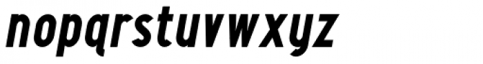 Maxwell Sans Bold Italic Font LOWERCASE