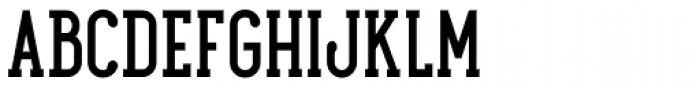 Maxwell Slab DemiBold SC Font UPPERCASE