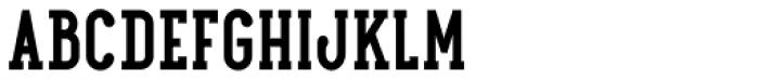 Maxwell Slab DemiBold SC Font LOWERCASE