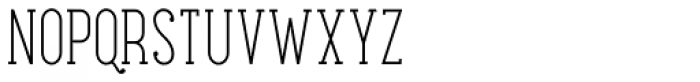Maxwell Slab Light SC Font LOWERCASE