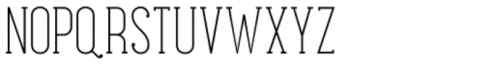 Maxwell Slab Light Font UPPERCASE