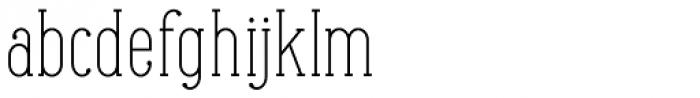 Maxwell Slab Light Font LOWERCASE
