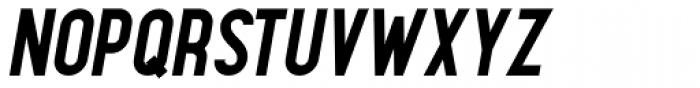 Maxwell Small Caps Bold Italic Font UPPERCASE