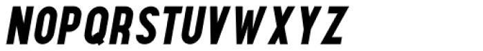 Maxwell Small Caps Bold Italic Font LOWERCASE