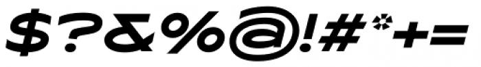 Maxy Maximum Italic Font OTHER CHARS