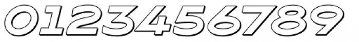 Maxy Maximum Shadow Italic Font OTHER CHARS