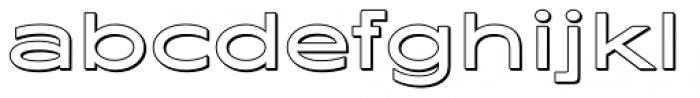 Maxy Medium Shadow Font LOWERCASE