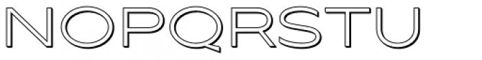Maxy Minimum Shadow Font UPPERCASE