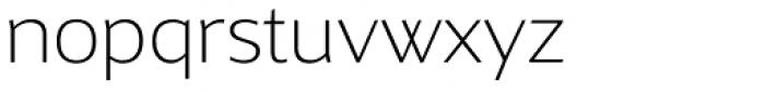 Maya Samuels OsF ExtraLight Font LOWERCASE