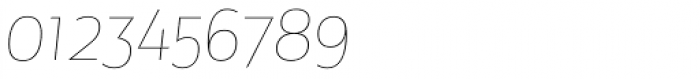 Maya Samuels OsF Thin Italic Font OTHER CHARS