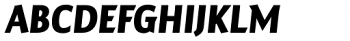 Maya Samuels Pro Bold Italic Font UPPERCASE