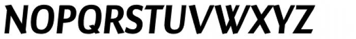 Maya Samuels Pro Italic Font UPPERCASE