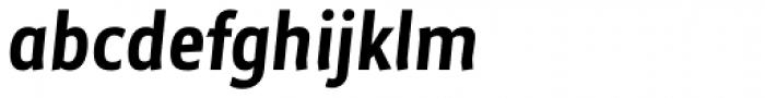 Maya Samuels Pro Italic Font LOWERCASE