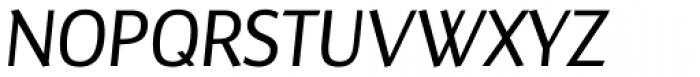 Maya Samuels Pro Light Italic Font UPPERCASE