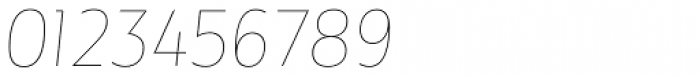Maya Samuels Pro Thin Italic Font OTHER CHARS