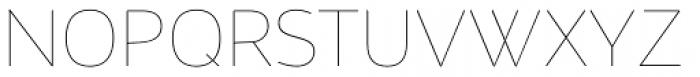 Maya Samuels Pro Thin Font UPPERCASE