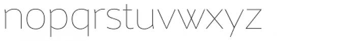 Maya Samuels Pro Thin Font LOWERCASE