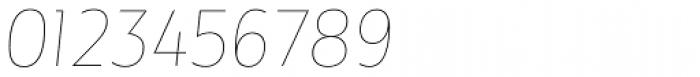 Maya Samuels Thin Italic Font OTHER CHARS
