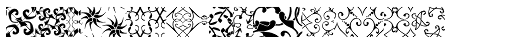 Maya Tiles Fill Font UPPERCASE