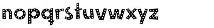 Mayayo Holes Font UPPERCASE
