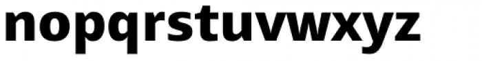 Mayberry Pro ExtraBold Font LOWERCASE