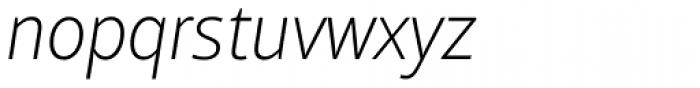 Mayberry Pro Light Italic Font LOWERCASE