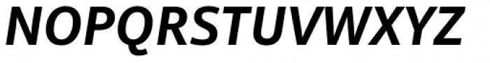 Mayberry Pro SemiBold Italic Font UPPERCASE