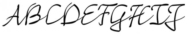 Mayence Text Font UPPERCASE