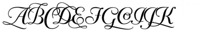 Mayfair Alt Font UPPERCASE