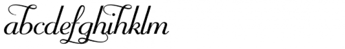 Mayfair Alt Font LOWERCASE