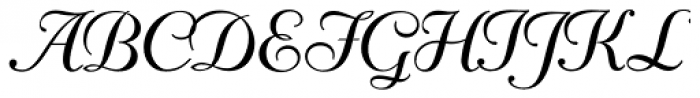 Mayfair Font UPPERCASE