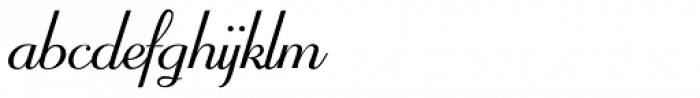 Mayfair Font LOWERCASE