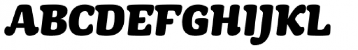 Mayonez Black Italic Font UPPERCASE