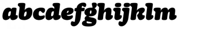 Mayonez Black Italic Font LOWERCASE