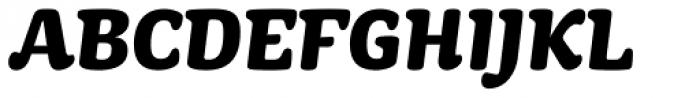 Mayonez Heavy Italic Font UPPERCASE