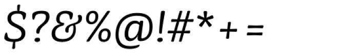 Mayonez Light Italic Font OTHER CHARS