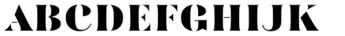 Mazette Extra Bold Font UPPERCASE