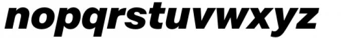 Mazin ExtraBold Italic Font LOWERCASE