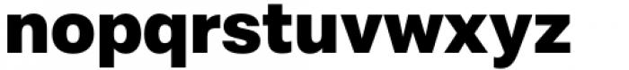 Mazin ExtraBold Font LOWERCASE