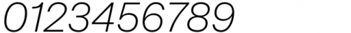 Mazin Light Italic Font OTHER CHARS