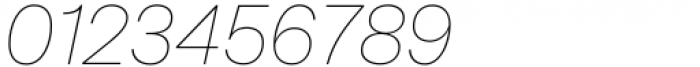 Mazin Thin Italic Font OTHER CHARS