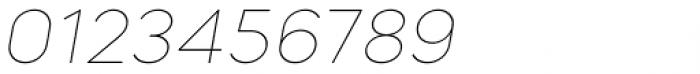 Mazzard Soft L  Thin Italic Font OTHER CHARS