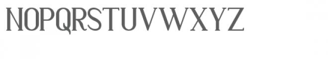 Markofontina Font UPPERCASE
