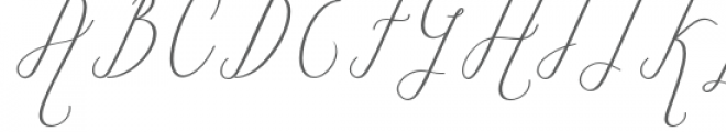 Marsya Font UPPERCASE